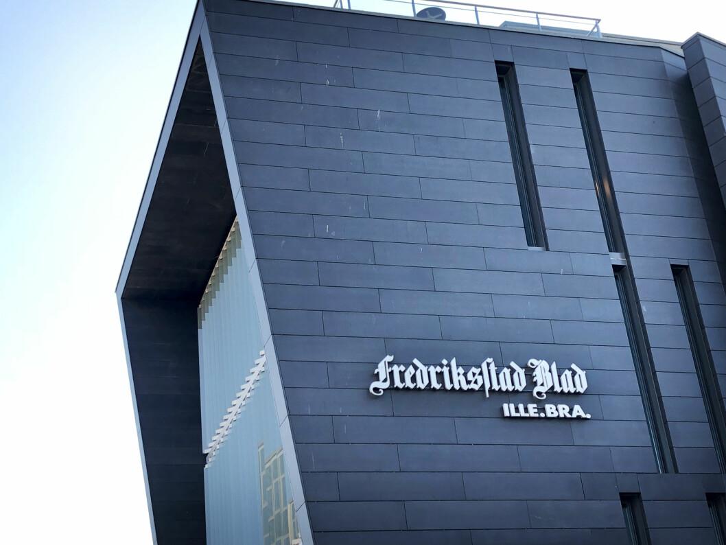 Fredriksstad Blads lokaler i Fredrikstad sentrum.
