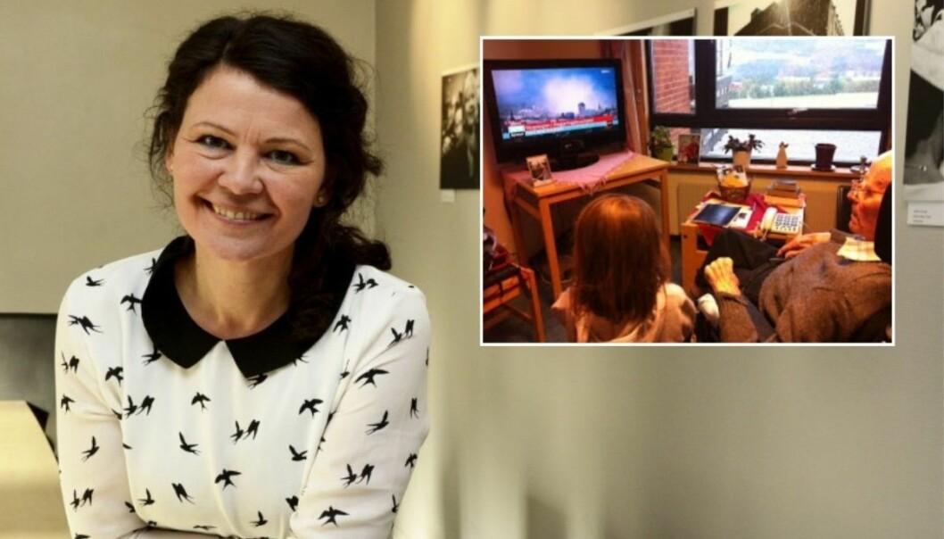 Rådgiver i Norsk Presseforbund, Ingrid Nergården Jortveit, forteller sin historie fra 22. juli.