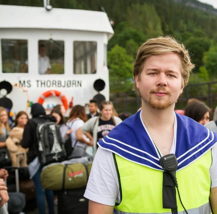 Johannes var ombord på MS Thorbjørn 22. juli: Slik reagerer han på beklagelsen fra Aftenposten