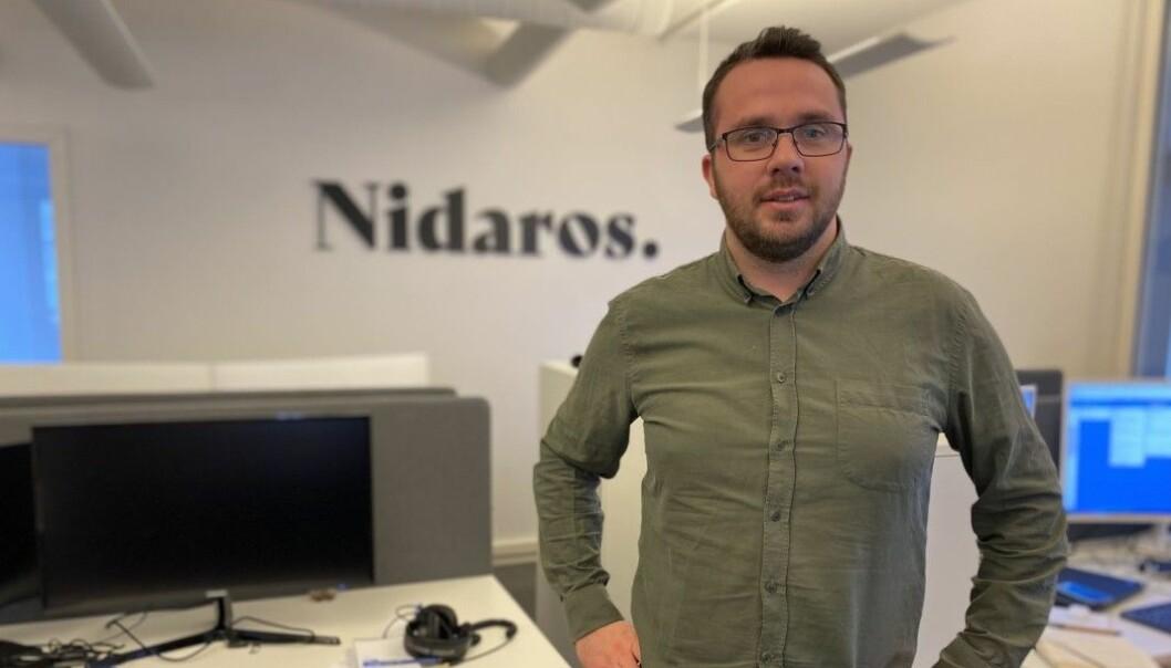 Lorns Bjerkan forlater Nidaros for å bli sjefredaktør for Steinkjer24.