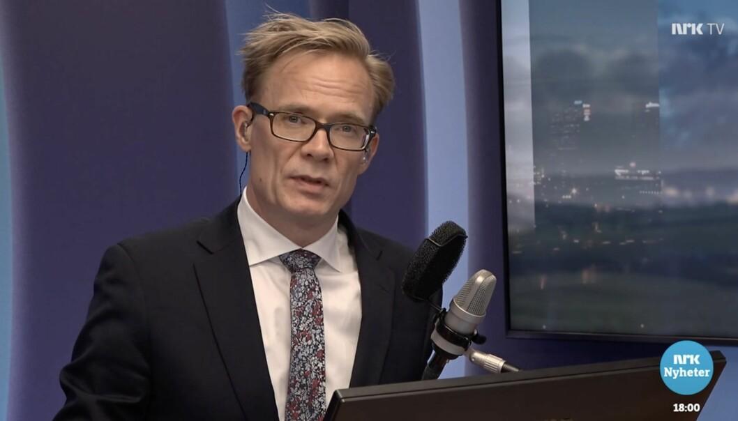 Dagsnytt 18 programleder Espen Aas er var vaktsjef på Marienlyst dagen etter terrorangrepet 22. juli.