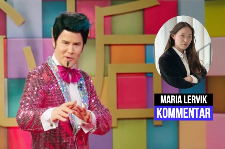 At NRK fjernet gameshow-episodene er irrelevant for spørsmålet om episodens innhold er problematisk