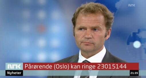 NRK-redaktøren om medienes rolle etter 22. juli: – Vi har ikke vært flinke nok til skape en trygg offentlighet