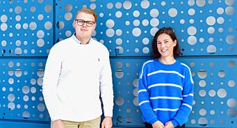 Jonas (21) og Kristin (38) er fast ansatt som journalister i Fosna-Folket