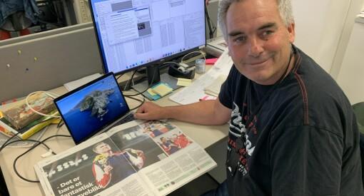 «Usynlig» hyllest til Warholm i Aftenposten: –Var en spesiell anledning