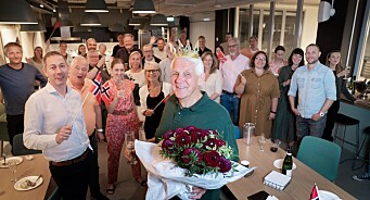 TU-journalist Odd Richard Valmot fyller 70 år: Har ingen planer om å gi seg