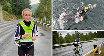 Frilansfotografen fullførte ekstrem-triatlonet Norseman - et halvt år etter hun hadde korona