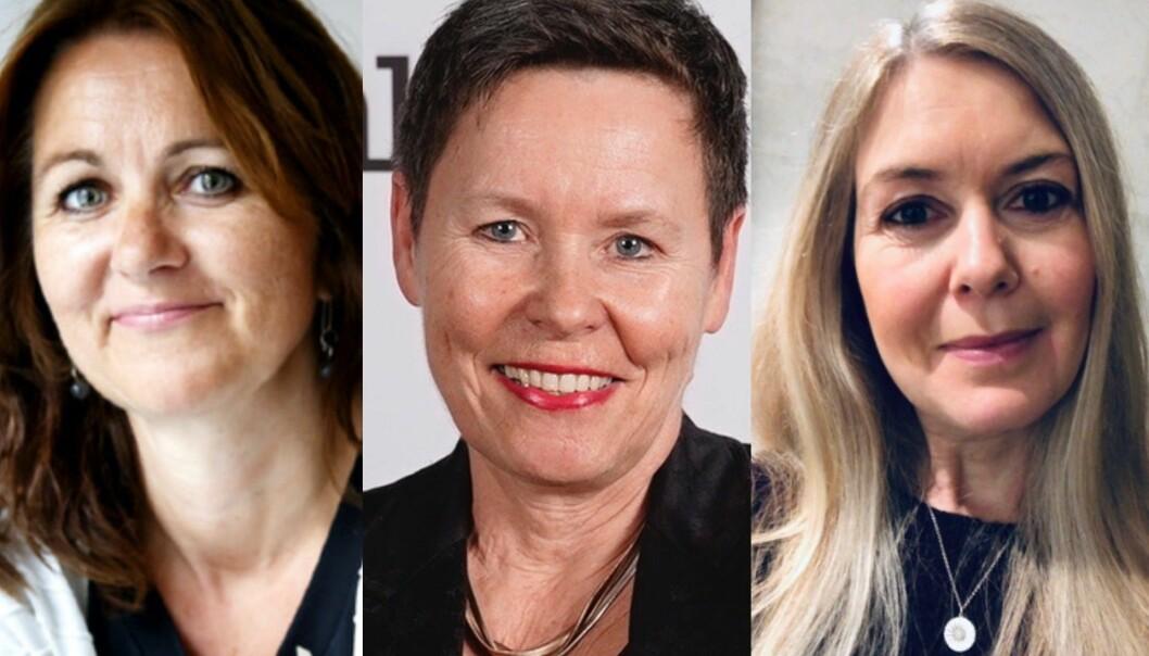Reidun Kjelling Nybø, Berit Nyman og Hege Fagerheim vil at flere typer journalistikk skal få støtte.