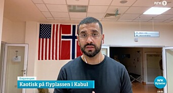 NRKs Yama Wolasmal er evakuert: – Jeg er heldig. Jeg har norsk pass