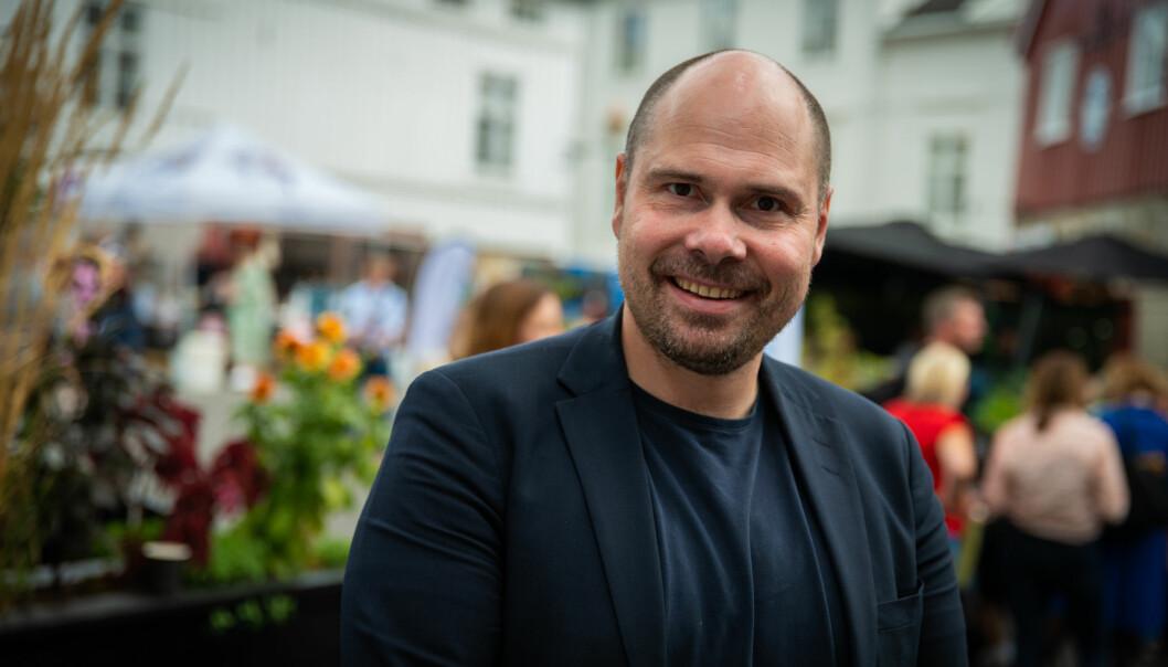 Anders Opdahl, Konsernsjef i Amedia