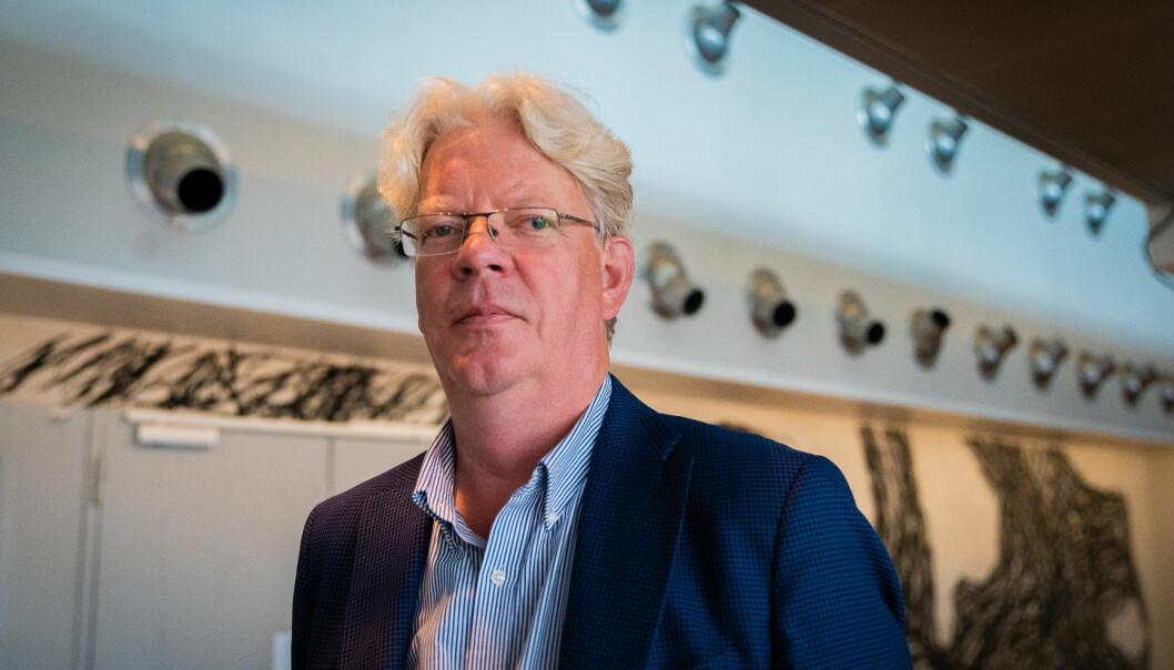 Tron Strand, leder for pressens offentlighetsutvalg