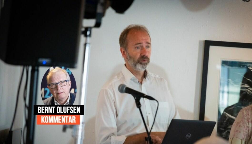 Mediekritiker og tidligere redaktør Bernt Olufsen forventer fellelse eller kritikk når Giske-saken skal til PFU