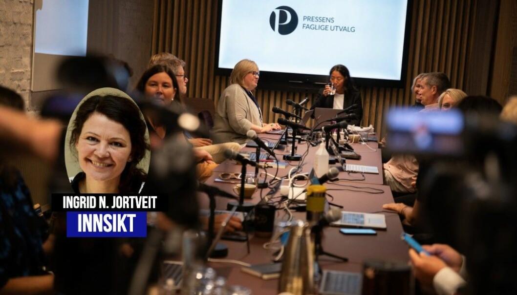 Rådgiveren i Presseforbundet og PFU går gjennom sakene fra forrige PFU-møte.