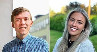 Aleksander (26) og Tonje (24) blir journalister i AdvokatWatch:– Miksen er helt nydelig