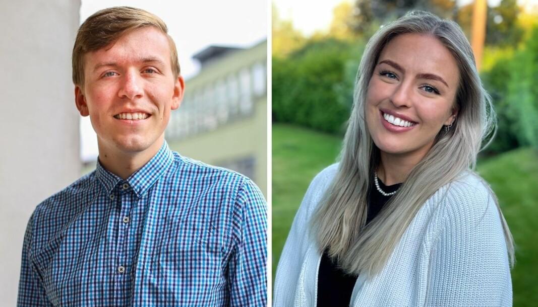 Aleksander Losnegård og Tonje Waal Karlsen blir journalister i WatchMedias nyoppstartede nettavis, AdvokatWatch.