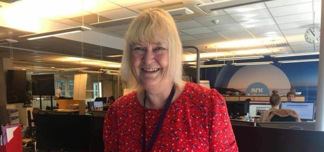 Til vanlig jobber Marianne Rustad Carlsen i kulturavdelingen i NRK Nyheter