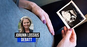 Mediene skyr de ekte bildene i abortdebatten