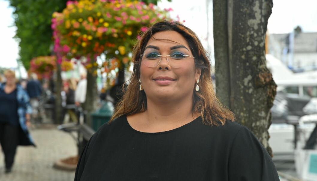 Tidligere SV-politiker og PFU-varamedlem Melissa Lesamana er ikke fornøyd med NRK Sørlandets dekning.