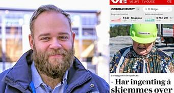 Reagerer på VGs bilde av Erna Solberg: – Dette vitner mer om utdriting av en person