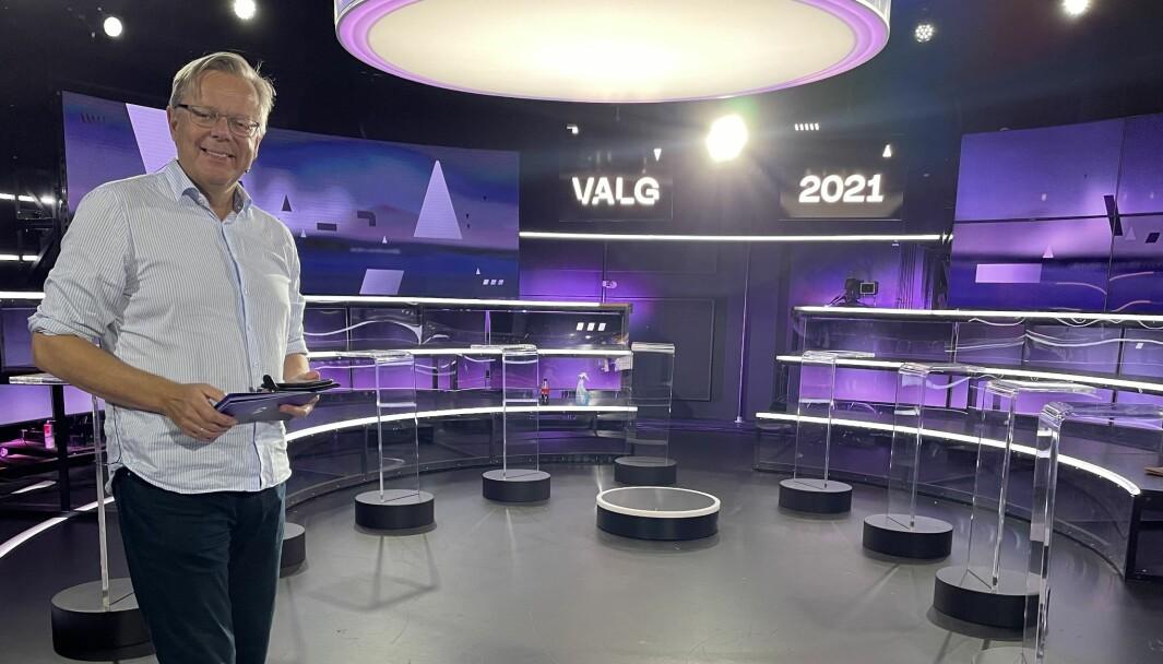 Arill Riise er selv spent før kveldens debatt på TV 2. – Jeg har lært meg en teknikk som går ut på at du skal glede deg til debatten begynner, og ikke til den slutter, sier han.