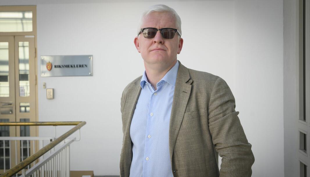 NJ-leder Dag Idar Tryggestad.