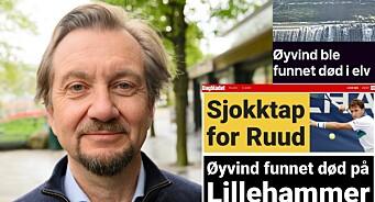 Dagbladet og TV 2 brukte fornavn i melding om dødsfall: – Smakløst