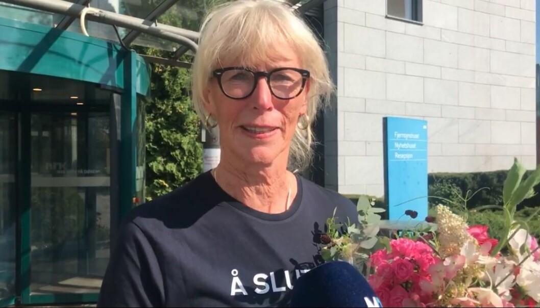 Kulturkommentator Agnes Moxnes gir seg i NRK.