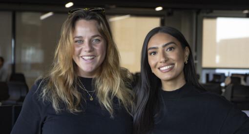 Ellen og Yasmin er nye programledere i NRJ og P5 Hits