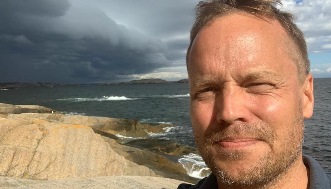 Ansvarlig redaktør i Sandefjords Blad, Steinar Ulrichsen