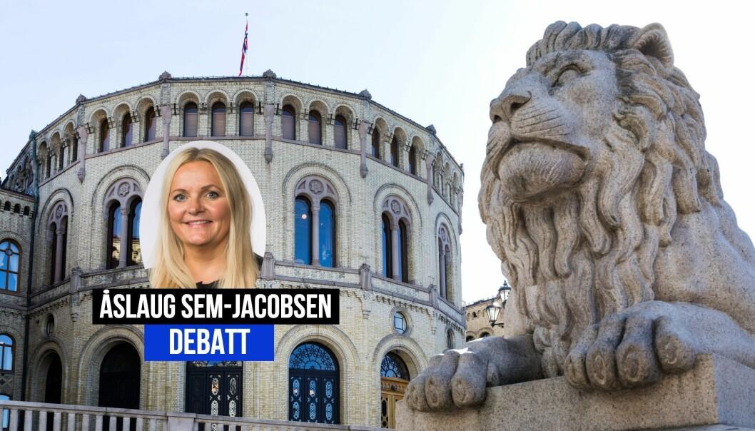 Åslaug Sem-Jacobsen er stortingsrepresentant for Senterpartiet.