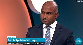 NRK meldte feilaktig om «rødgrønn bølge» i skolevalget - nå beklager de