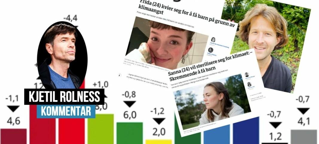 Hva skal vi tro på? Resultatene av skolevalget, eller NRKs klimapropaganda?