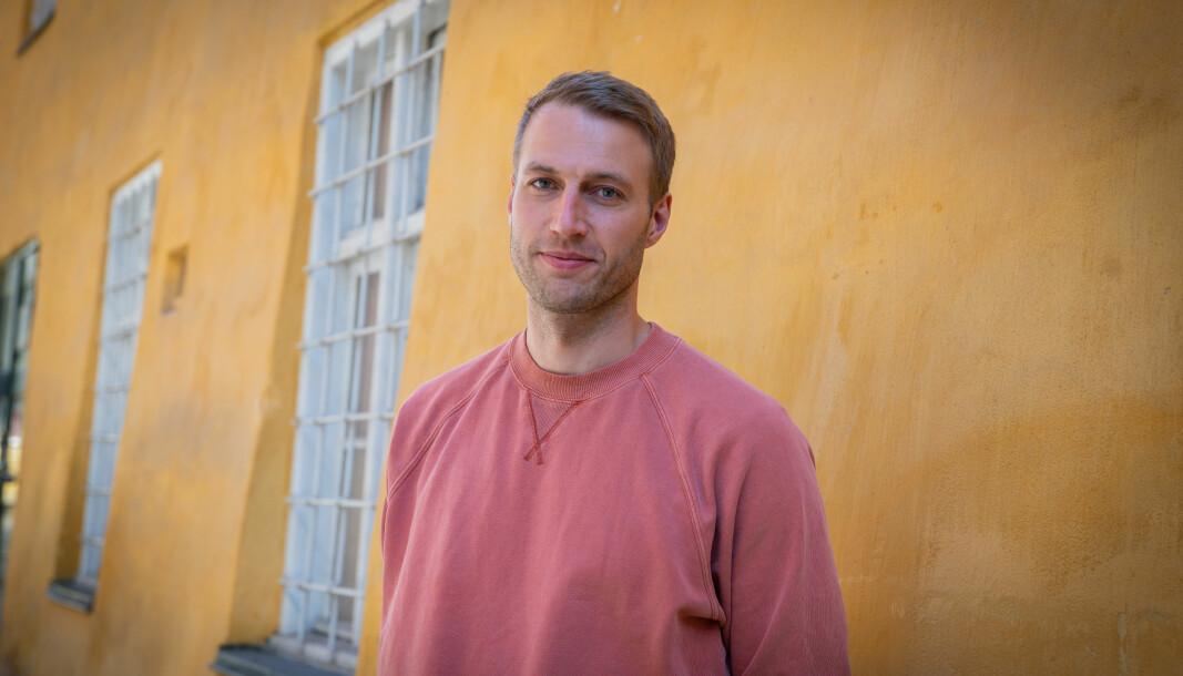 Journalist Lars Kristian Øverland står bak den nye norske podkasten «En Mørk Historie».