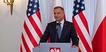 Senatet i Polen avviser omstridt medielov