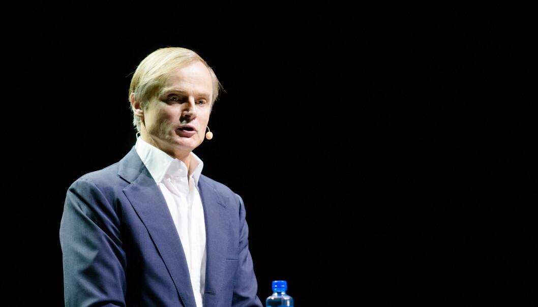 Investor og milliardær Øystein Stray Spetalen.