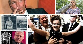 Truser, sjøløve og puppegrep - dette er noen av stuntene politikerne har gjort i pressen