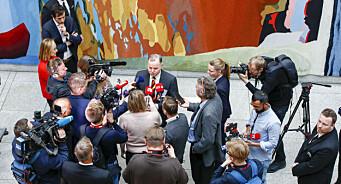 Journalistene er klare for valgnatt på Stortinget. Slik påvirkes de av koronareglene