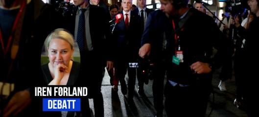 Bildene fra da Jonas vandret til Stortinget er en fornærmelse