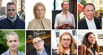 Se oversikten: Disse eks-journalistene jobber nå i politikken