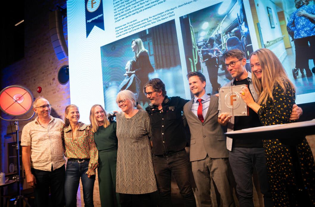 Fagbladet vant årets Fagpressepris