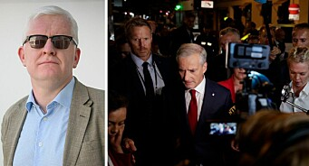 NJ-lederen forsvarer journalistenes tette møter med politikerne: – Vanskelig å klandre dem