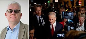 NJ-lederen forsvarer journalistene etter korona-kritikk
