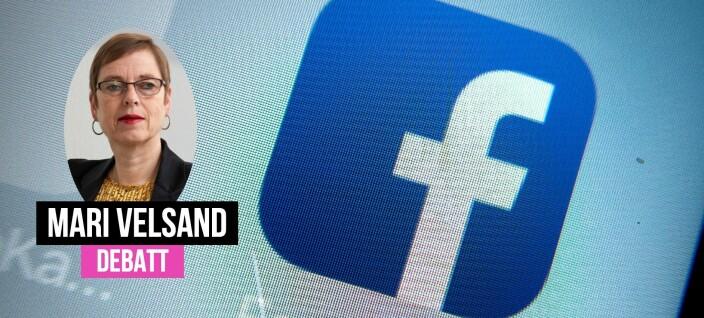 Det er forskjell på VG og Facebook
