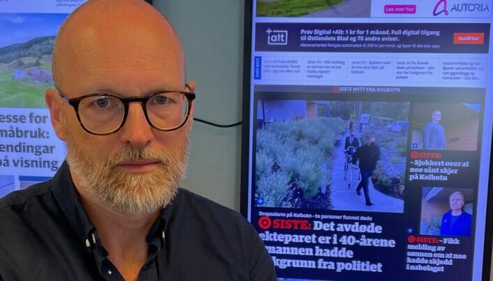 Redaktør refser politiets manglende kommunikasjon i drapssak på Kolbotn: – Veldig krevende