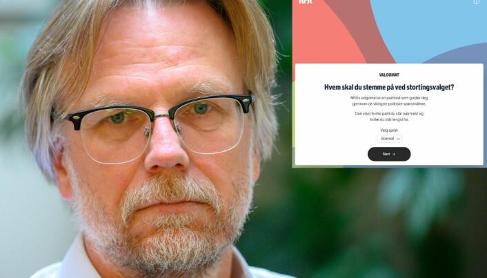 NRKs valgomat ble kalt diskriminerende. Nå åpner de for å inkludere småpartier til neste valg
