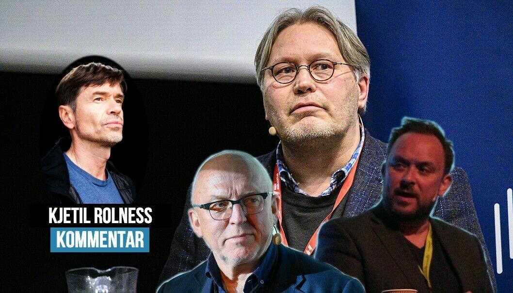 Kjetil Rolness mener retorisk skyts er tatt frem etter valget.