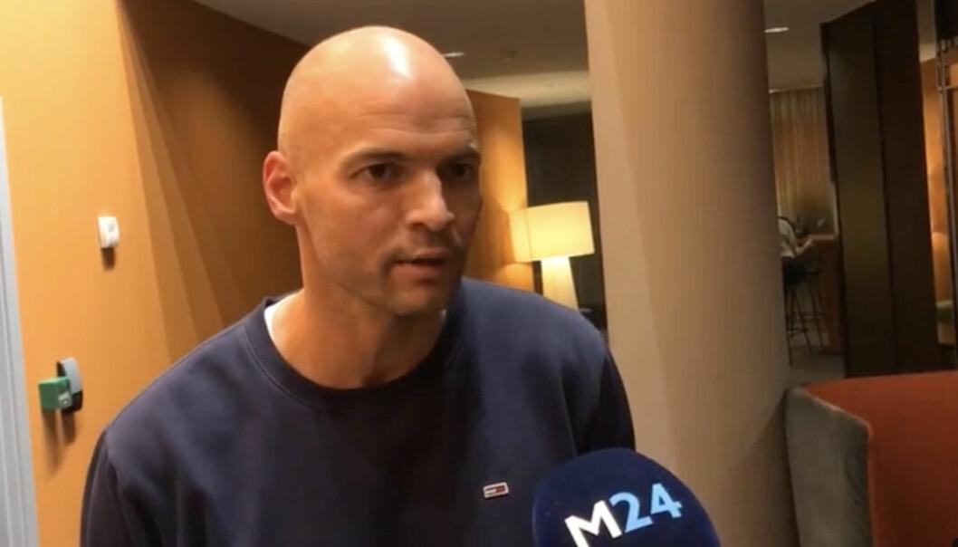 Regissør Anders Hammer under Fortellingens kraft.