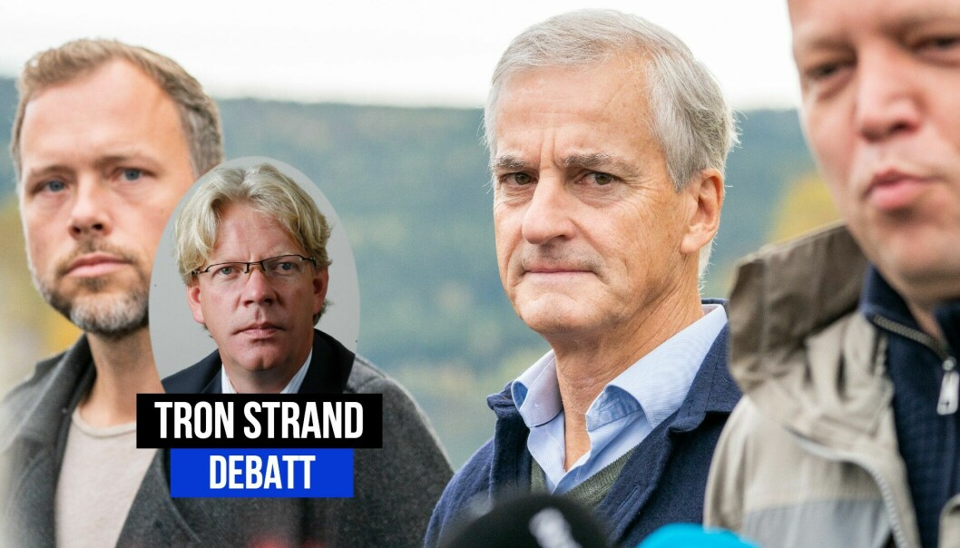 Pressens Offentlighetsutvalg har flere krav til Audun Lysbakken, Jonas Gahr Støre og Trygve Slagsvold Vedum.