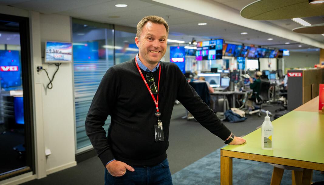 HR-sjef og korona-sjef i VG, Andreas Arnseth