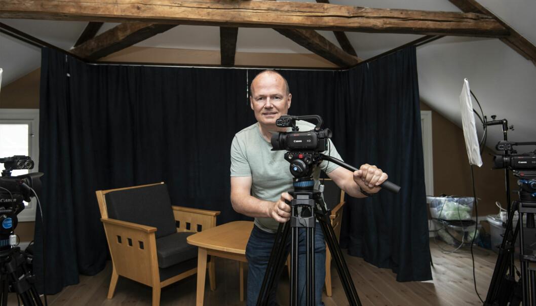 Tore Myrberg er avdelingsleder for Lisand i Risør og leder for Mediehuset Lisand.